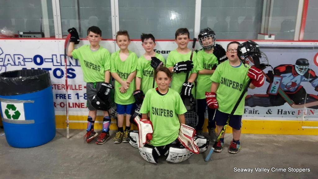 2017 Ball Hockey Tournament Seaway Valley Crime Stoppers