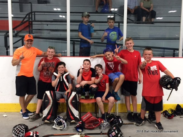 2018 Ball Hockey